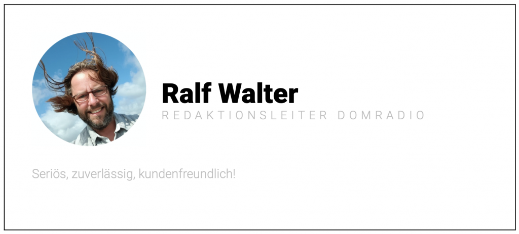 Quelle: Ralf Walter, Domradio