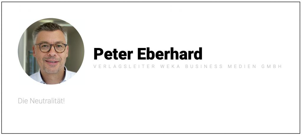 Quelle: Peter Eberhard, Weka Business